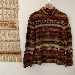 🌛Vintage David Brooks 🌛 holiday sweater